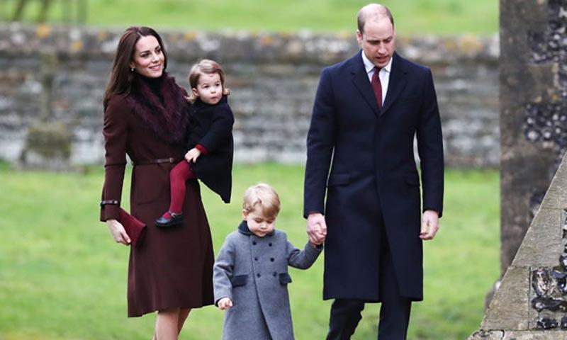 78f55f595b Los Duques de Cambridge  ¿año nuevo