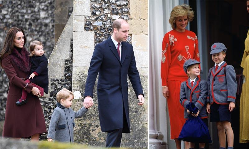 El uniforme escolar de 1.000 euros del príncipe George