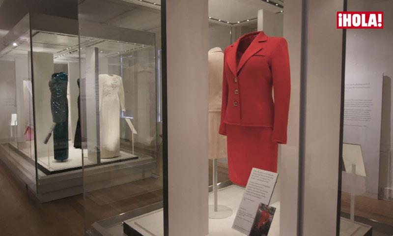 Descubrimos la exposición con los vestidos icónicos de la princesa Diana