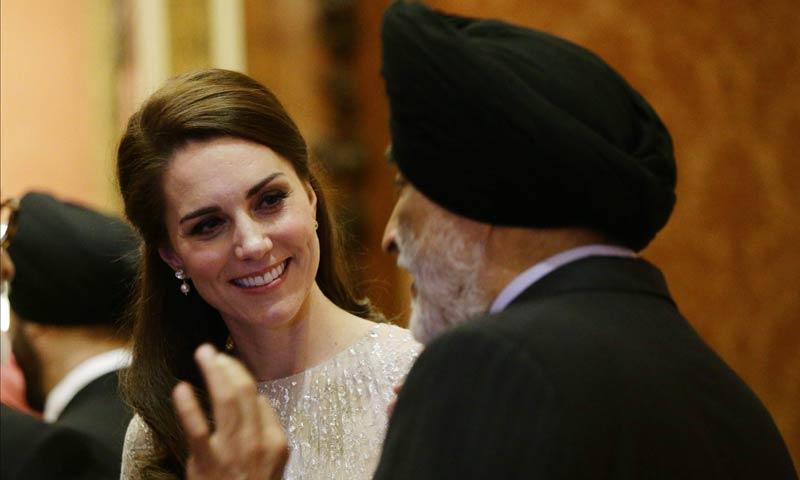 La Duquesa de Cambridge, reina de la elegancia en una recepción de las mil y una noches