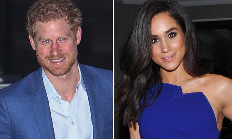 El príncipe Harry y Meghan Markle ¡juntos de boda!