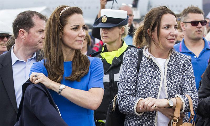 La Duquesa de Cambridge se queda sin 'su mano derecha'