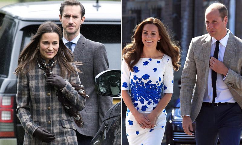 La 'preboda' de Pippa Middleton para presentar a los Duques de Cambridge a su familia política