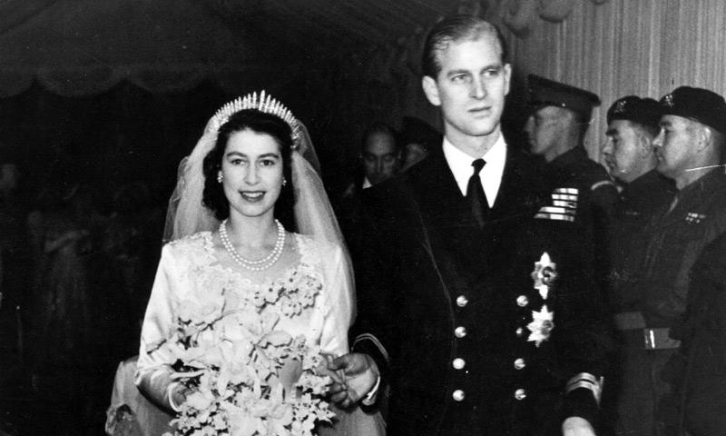 En vídeo: Así fue la boda de la reina Isabel II y el Duque de Edimburgo