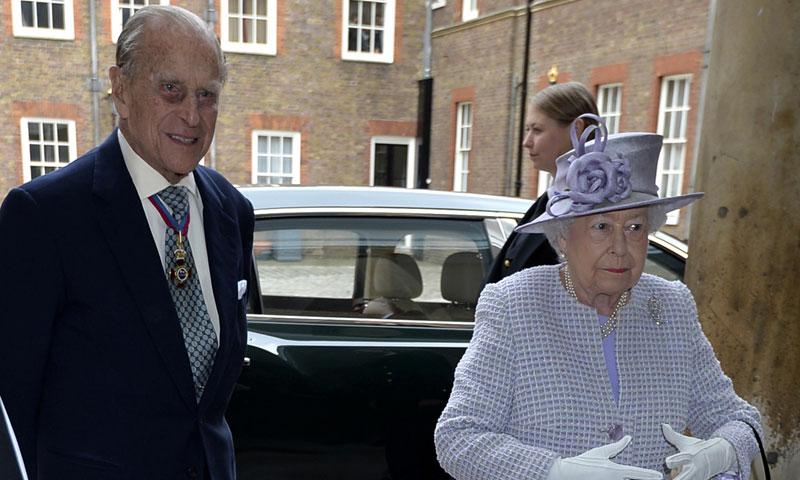 'No puedo aguantar mucho más', bromea el Duque de Edimburgo sobre su retirada