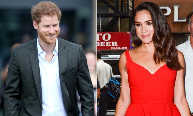 El príncipe Harry y Meghan Markle hacen su primera aparición pública en un torneo de polo