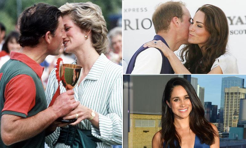 Primero Diana, después Kate y ahora Meghan... ¡el amor está en el polo!