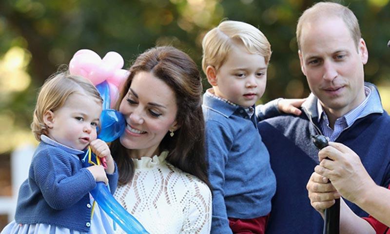 Los hijos de los Duques de Cambridge aprenden a hablar español