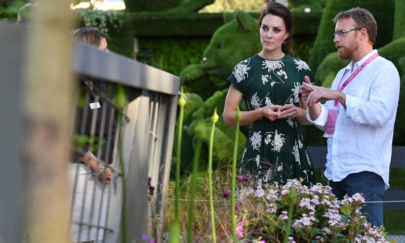 La Duquesa de Cambridge, de 'fiesta' primaveral tras la boda de su hermana, Pippa