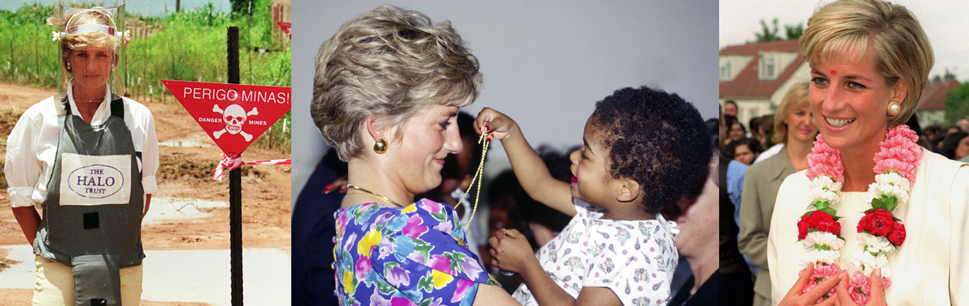 Diana de Gales, Reina de la Solidaridad