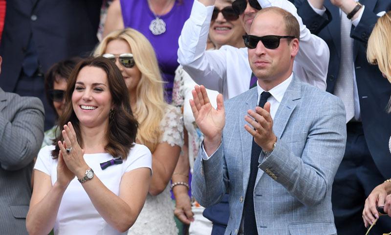 Los duques de Cambridge, Hugh Grant y Bradley Cooper no se perdieron la octava victoria de Federer en Wimbledon