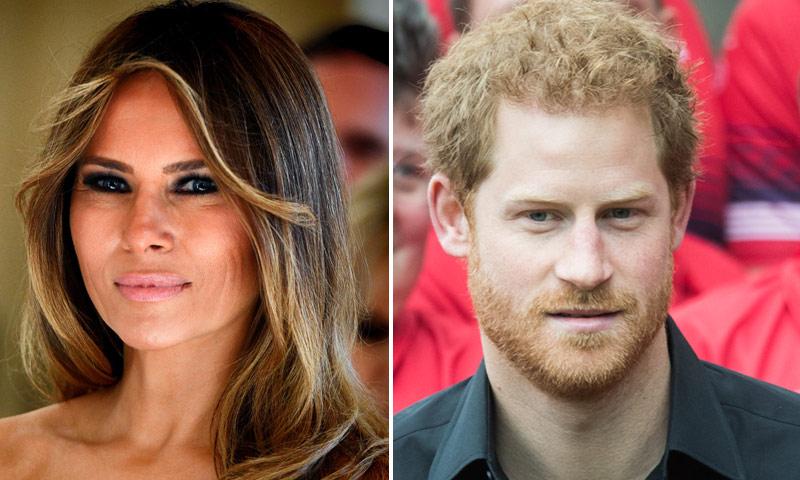 Melania Trump se unirá a Harry de Inglaterra en los Juegos Invictus de Toronto