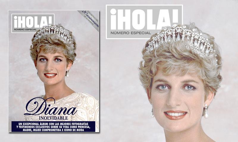 'Diana inolvidable', el número especial de ¡HOLA! que rinde tributo a la inolvidable Diana de Gales, ya a la venta