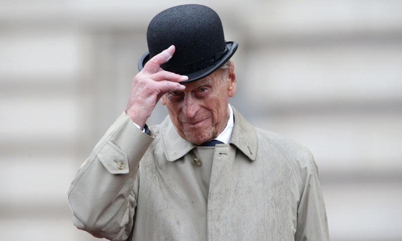 Felipe de Edimburgo, de 96 años, se despide de los actos oficiales