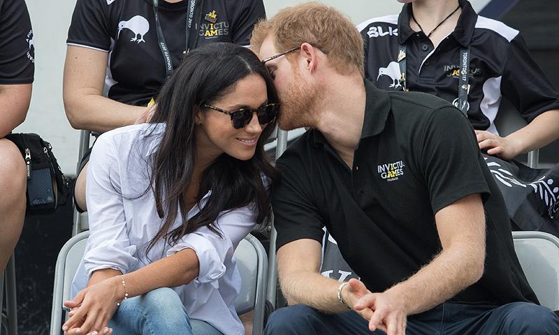 Sonrisas, miradas, gestos… Harry y Meghan como nunca los habíamos visto