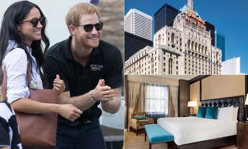 Descubre el hotel en el que se alojan Harry y Meghan en Toronto