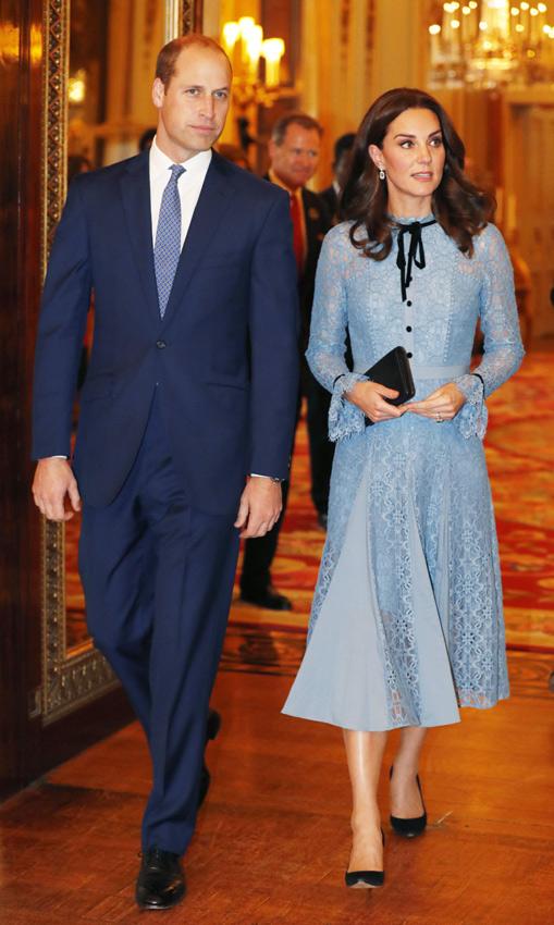 Primera aparición de la Duquesa de Cambridge tras anunciar su embarazo