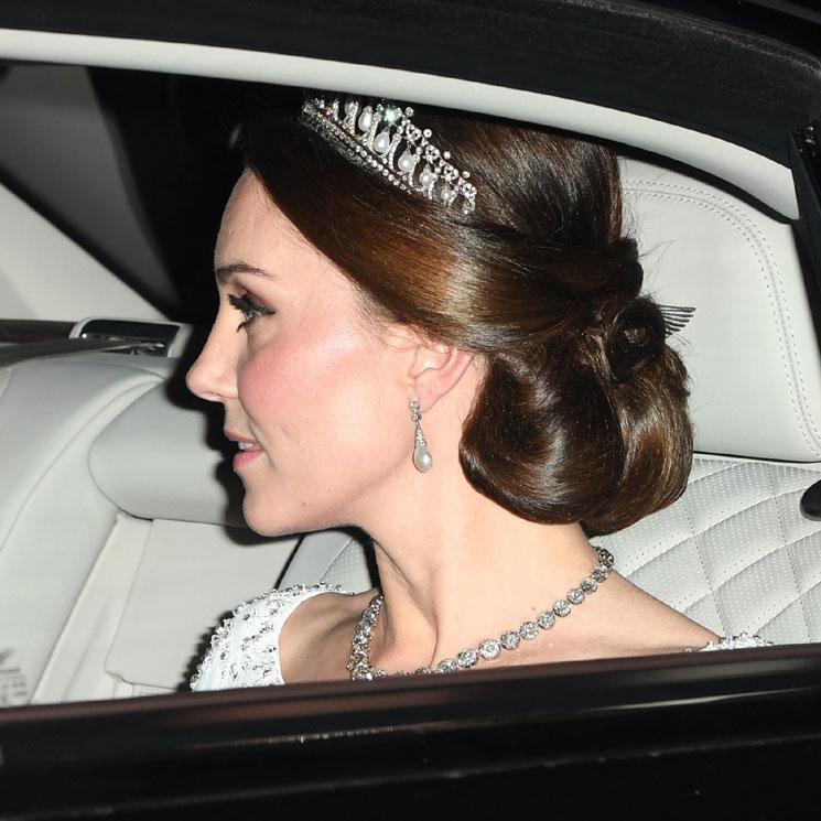 1d1fc4f030 La Duquesa de Cambridge brilla con la tiara favorita de Diana de Gales