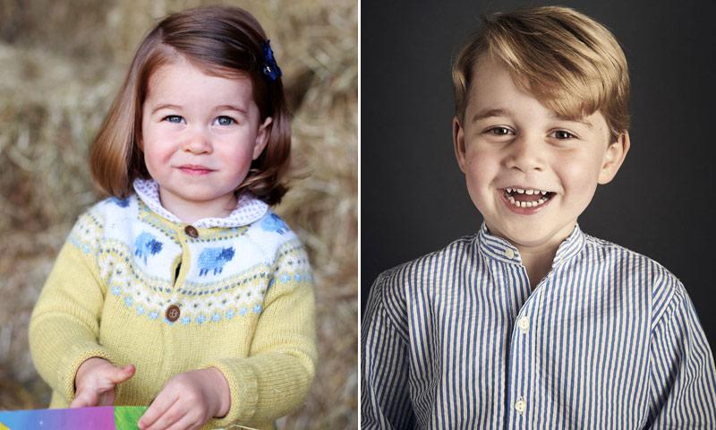 Desde un set de cocina hasta un atrapasueños: los 90 regalos de George y Charlotte en 2017
