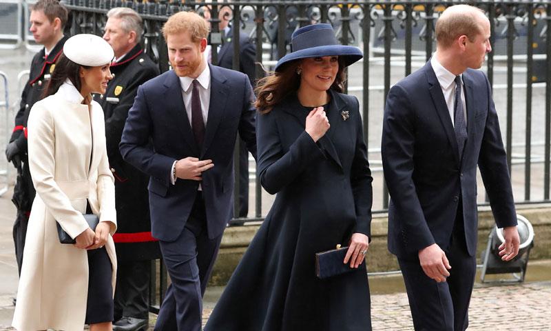 Con la Reina y las máximas autoridades, este sí es el gran debut de Meghan Markle
