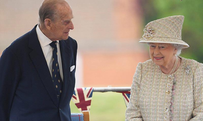 El Duque de Edimburgo, obligado a retirarse de un acto público por enfermedad