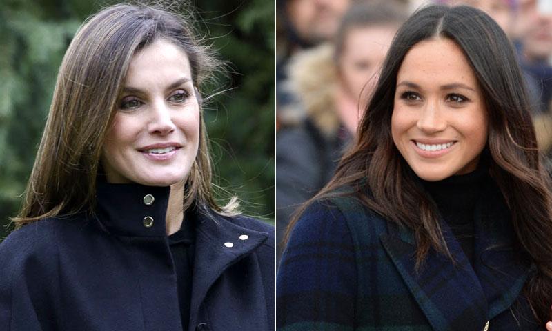 El paralelismo que el biógrafo de Diana ha visto entre la reina Letizia y Meghan Markle