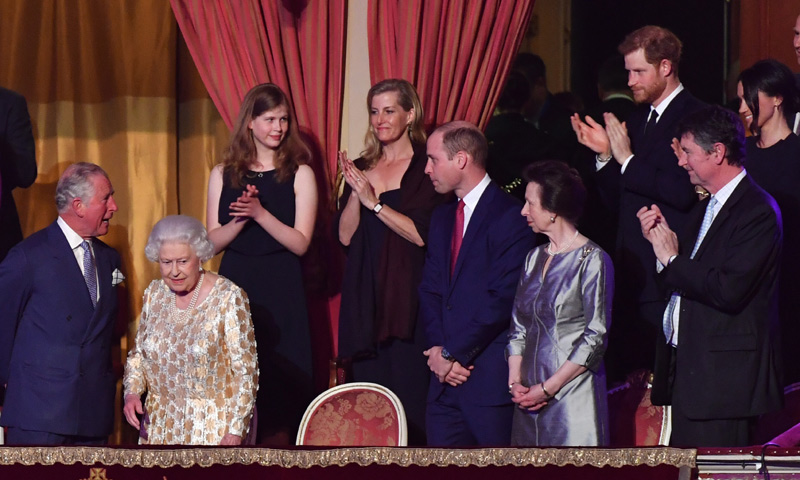 Meghan Markle, invitada estrella en el concierto por el cumpleaños de Isabel II