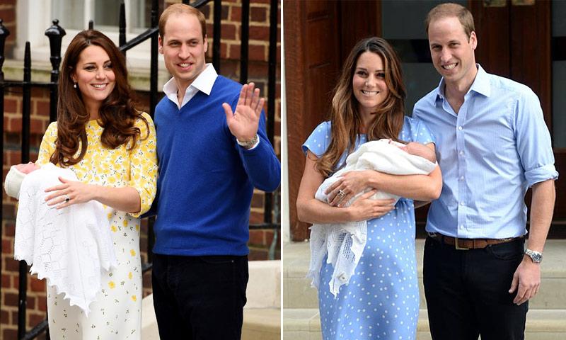 Recordamos los nacimientos de los príncipes George y Charlotte
