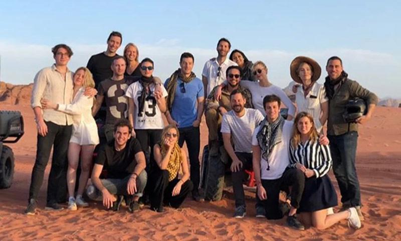 Las exóticas vacaciones en Jordania de Beatriz de York junto a Ellie Goulding y Karlie Kloss