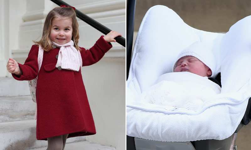 El motivo por el que Louis y Charlotte de Cambridge estuvieron a punto de no ser príncipes