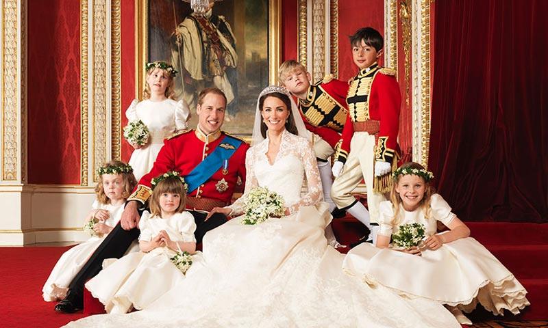 ¿Dónde están ahora los pequeños pajes y damas de honor de la boda de los Duques de Cambridge?
