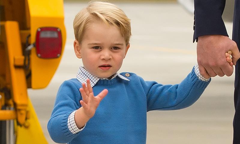 George de Cambridge da sus primeros pasos en el mundo de la hípica