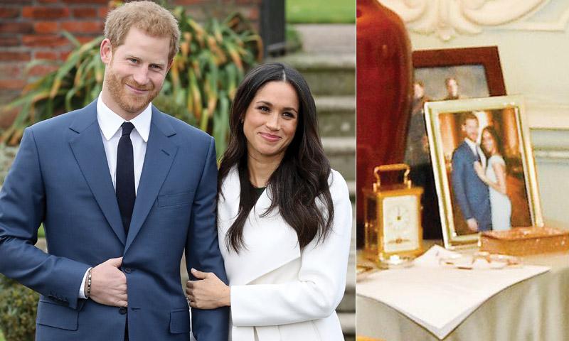 El nuevo retrato de los duques de Sussex sale a la luz de forma inesperada