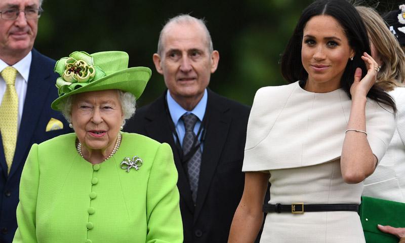 ¡A solas con la Reina! La duquesa de Sussex aprende de la mejor