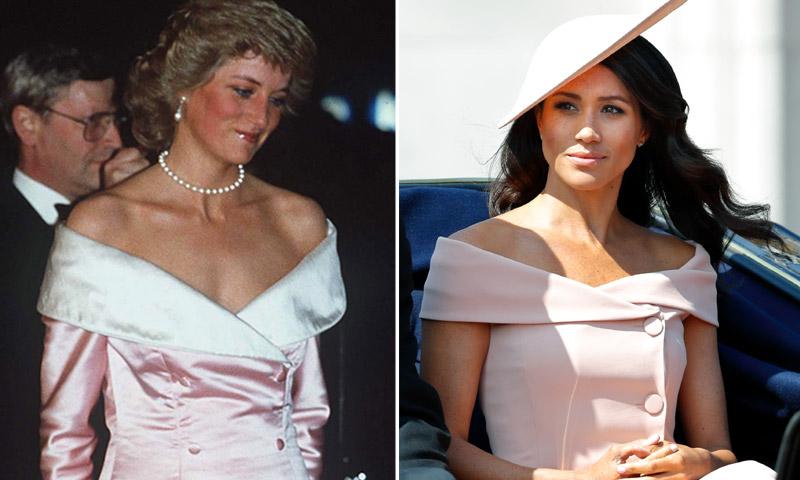 La Duquesa de Sussex rindió homenaje a Diana de Gales, y ¡casi nos lo perdemos!