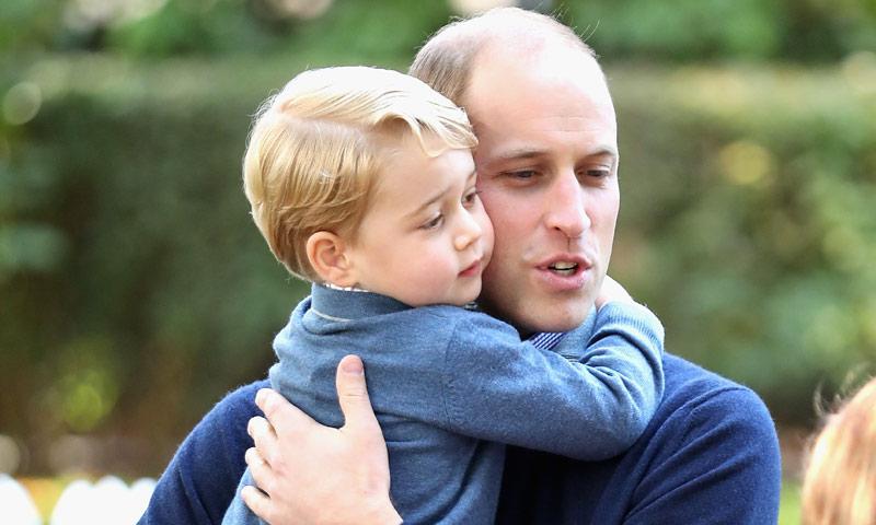 La 'hazaña' del príncipe Guillermo que más ha impresionado a su hijo George