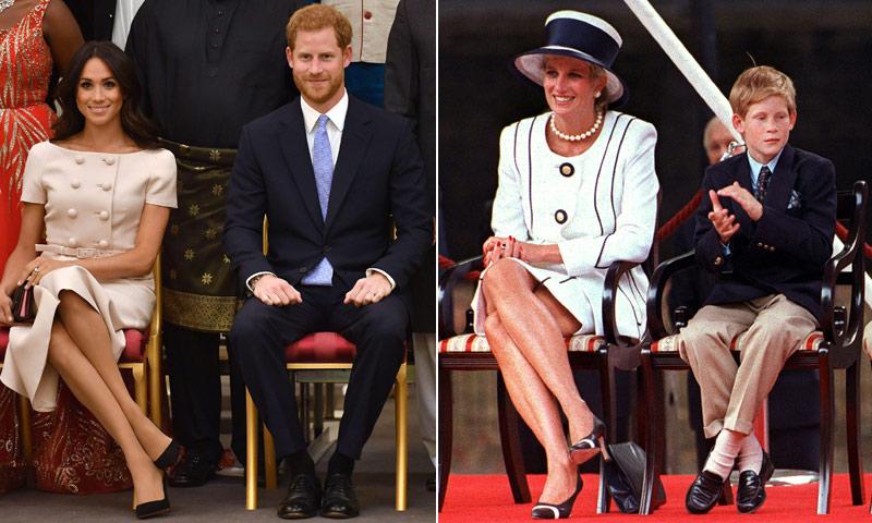 Los detalles de Meghan Markle en su última aparición que han recordado a la princesa Diana