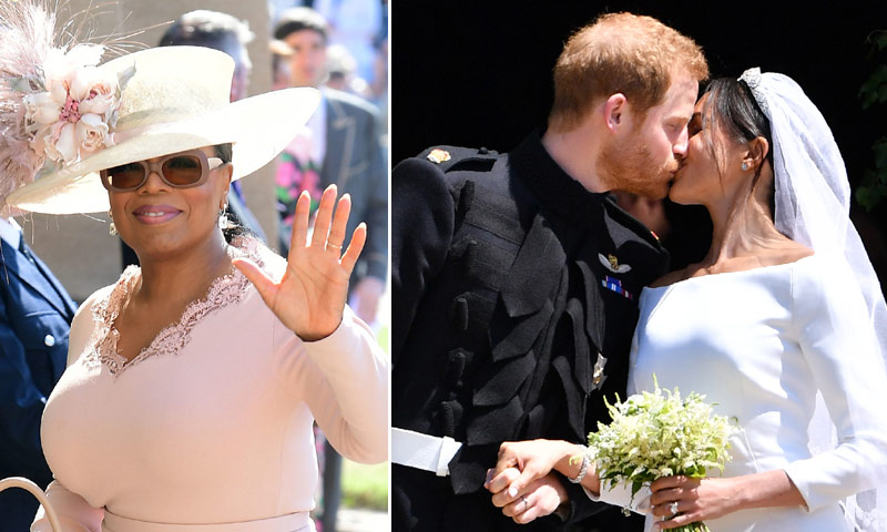 Oprah Winfrey cuenta cómo vivió la boda del príncipe Harry y Meghan Markle: 'Me dejó sin aliento'