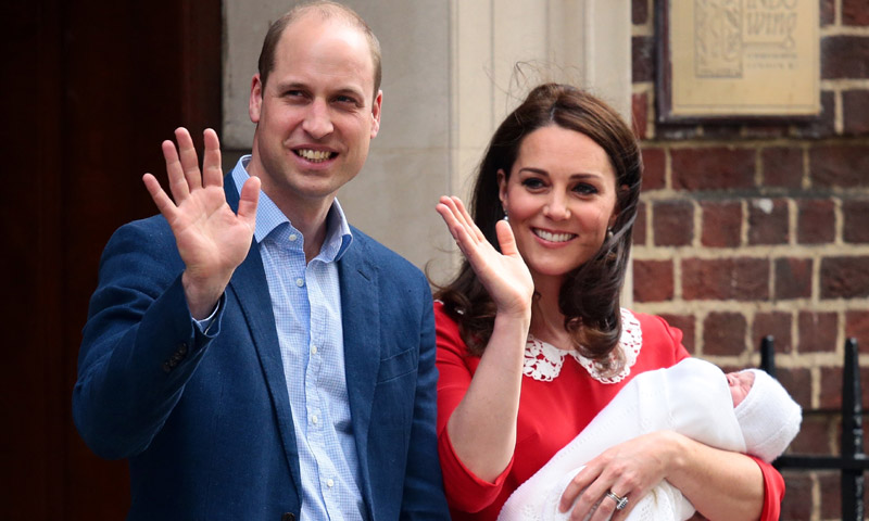 Una ausencia inesperada marcará el bautizo de Louis de Cambridge esta tarde