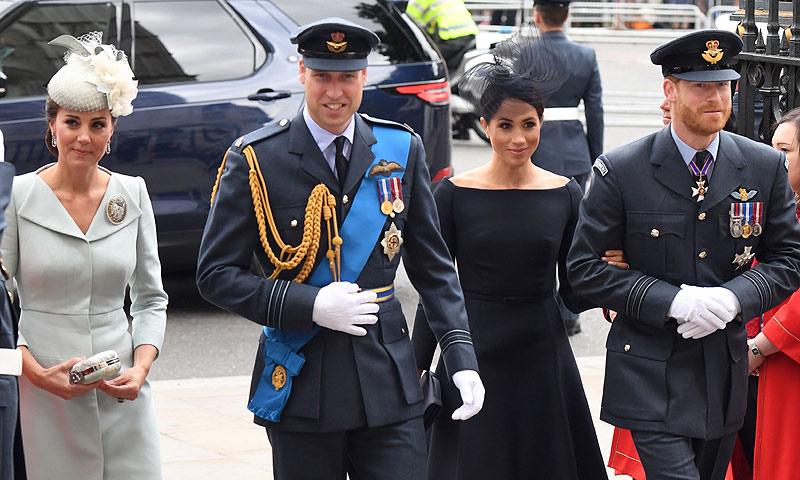 ¡Vuelve el 'dream team'! La duquesa de Cambridge se incorpora a una agenda cada vez más frenética para Meghan