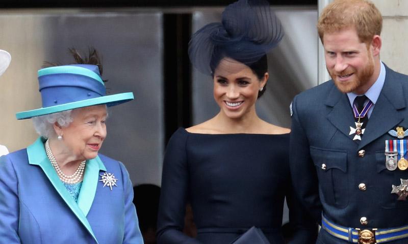 ¡Toma nota, Meghan! El truco de la Reina que casi pasa inadvertido