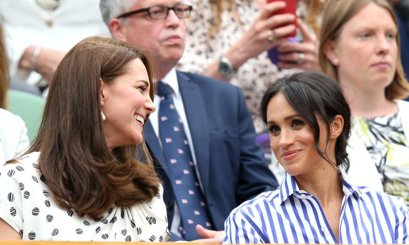 Las Duquesas de Cambridge y Sussex, día de chicas en Wimbledon