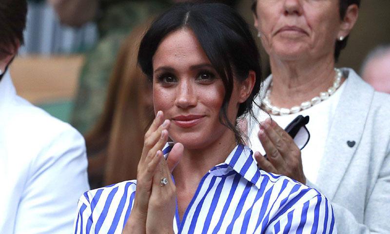 Así vivió la Duquesa de Sussex la derrota de Serena Williams en Wimbledon