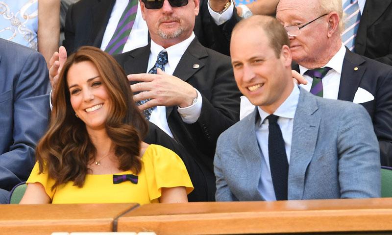Los Duques de Cambridge, testigos de excepción de la gran final de Wimbledon
