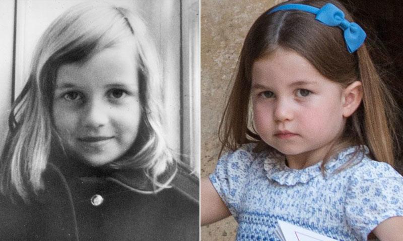 Charlotte de Cambridge, fiel reflejo de Diana de Gales a su edad
