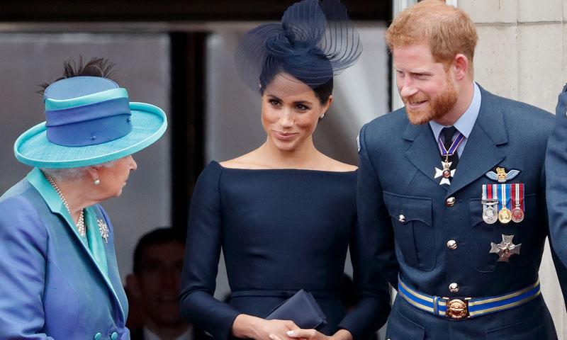 Los Duques de Sussex se unen a la reina Isabel para pasar unas especiales vacaciones juntos