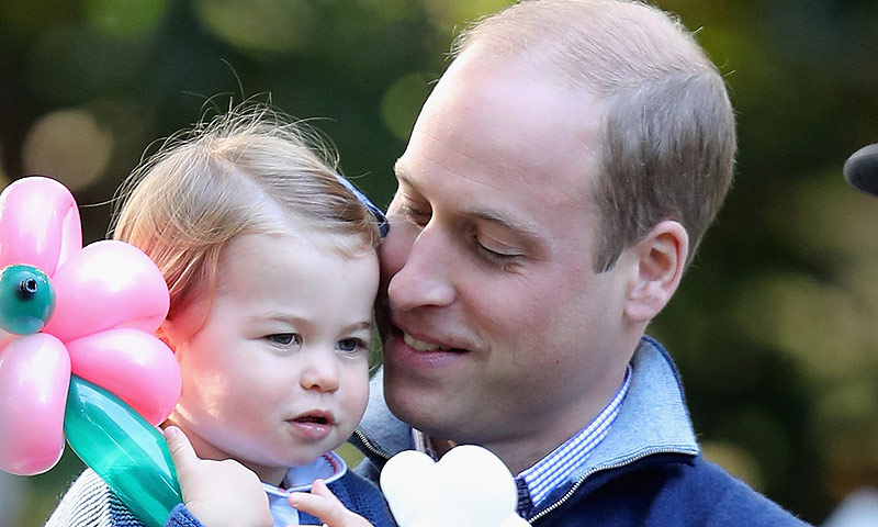 La imagen que demuestra que el príncipe Guillermo y su hija Charlotte son como dos gotas de agua