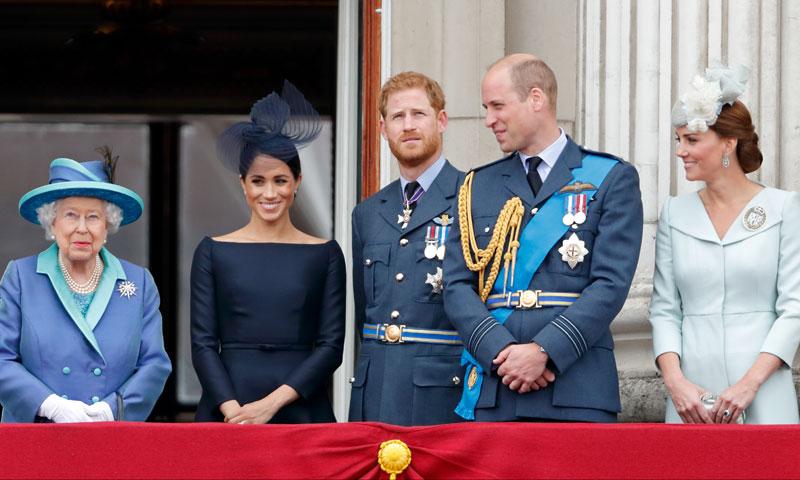 Los simpáticos apodos que emplea la Familia Real británica: Squeak, Wombat, Spike...