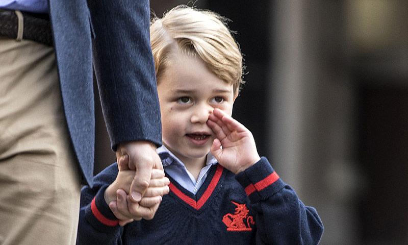 Esto es lo que aprenderá el príncipe George en su nuevo año escolar