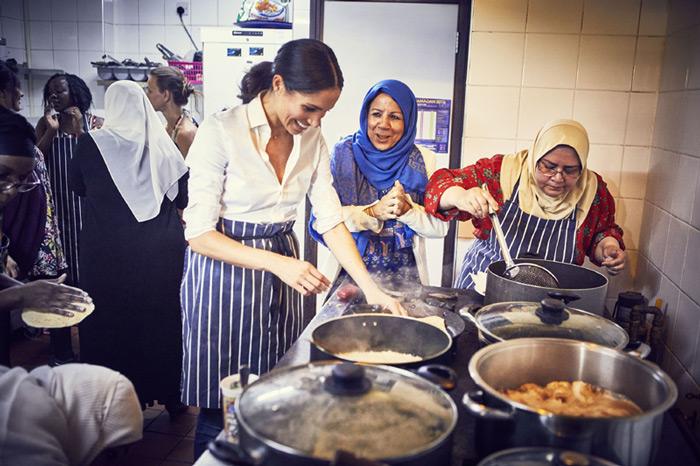 La especial causa por la que Meghan Markle ha organizado una comida en el Palacio de Kensington